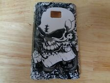 New LG Optimus Dynamic Skull Case Cover Protector