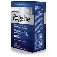 ROGAINE 3 Month Supply. Men's Foam 5% Minoxidil Hair Regrowth Treatment - 2.11 o