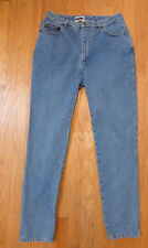 Vintage 90's ** DKNY ** High Waist Mom Jeans Tapered Leg Medium Blue Wash 12