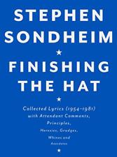 Sondheim Stephen-Finishing The Hat HBOOK NEUF