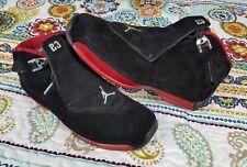 Air Jordan Retro 18 XVIII CDP Bred 2008 332548-061 sz 12 Basketball Shoes