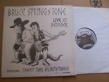 BRUCE SPRINGSTEEN,LIVE AT BEDROCK maxi m-/m- clean cuts rec. CC 1202 USA 1982