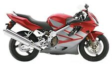 Silver Red Fairing Bodywork Injection for 2004-2007 Honda CBR600 F4i 2005 2006