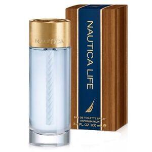 Nautica Life For Men Cologne Eau de Toilette 3.4 oz ~ 100 ml Spray New in Box