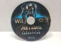 Metroid Prime 3: Corruption (Nintendo Wii, 2007) Game Disc Only - Tested