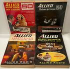 Allied Electronics For Everyone - Lot of 8 vintage - 1959 - 1969 - Catalogs