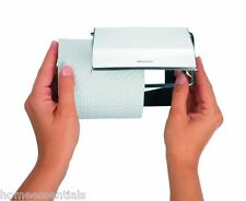 Brabantia Wall Mounted Toilet Roll Holder Left Or Right Fitting Brilliant Steel