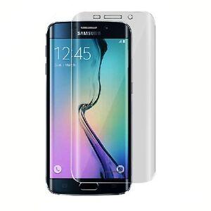 Transparent Case Flexible Samsung Silicone Galaxy S6 Edge, Film Integral Curve