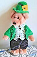 "Irish Teddy Bear Traditional Crafts Dublin 10""  Soft Toy Plush Comforter. EXC"