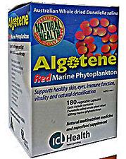 ICL Health Algotene Dunaliella Salina Red Marine Phytoplankton 180