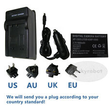 Battery + Charger for TOSHIBA Camileo X100 H30 H31 NP-120 PX1657 PA3791U-1CAM