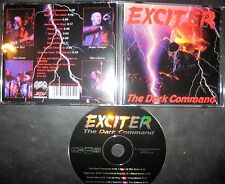 CD The Dark Command Exciter - Speed Metal Metallica Megadeth Overkill