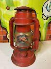 "Vintage Chalwyn Tropic #2 red battery lantern 10"""