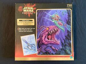 Star Wars Episode 1 The Phantom Menace 750 Piece Gungan Sub Escape Used