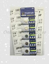 5 piece CR1130 1130 DL1130 BR1130 High Quality Card 3V Lithium battery!