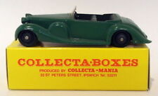 Vintage Dinky 38C - Lagonda Sports - Green Supplied In Collectabox 2nd Listing