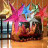 Xmas String Hanging Star Christmas Ornament Party Festival Decoration Tree Decor