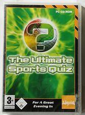 Ultimative Sport Quiz PC CD-ROM Spiel NAGELNEU & OVP Fußball Golf Tennis etc