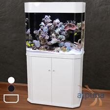 ungewöhnliches Panorama-Aquarium ET-96 weiß T5