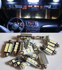 6 pcs White SMD led Interior lights kit for Audi A3 8L Canbus No Error