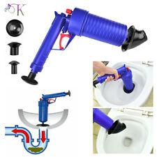 Air Pump Drain Blaster Sink Plunger Bath Toilet Blockage Remover Unblocker New