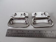 Lot 2 Takigen A-1175-2 304 Ss Trunk Handle with Stainless Steel Spring Box Japan