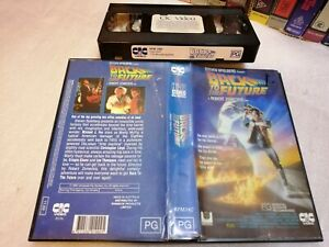 BACK TO THE FUTURE (1985) - RARE 1990's CIC Sell Through Issue! Vhs SciFi Action