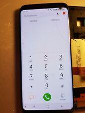 Ecran LCD SAMSUNG GALAXY S8 G950 - vitre cassée + défaut - S8-9