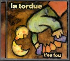 CD ALBUM 16 TITRES--LA TORDUE--T' ES FOU--1997