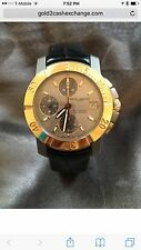 RARE BAUME & MERCIER CAPELAND S CHRONOGRAPH TITANIUM &18K ROSE GOLD AUTOMATIC