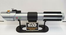 More details for star wars anakin skywalker's lightsaber with stand - cosplay-prop-collectable