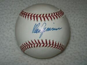 DON ZIMMER AUTOGRAPHED SIGNED MLB BASEBALL YANKEES RED SOX CHICAGO CUBS D-2014