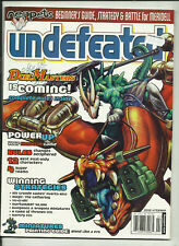 UNDEFEATED MAGAZINE - #4 (RPG's, BOARDGAMES, CCG'S, MINIATURES etc.) 2004