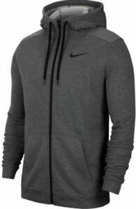 $ 60 Nike Sportswear Club Fleece  Hoodie 860465-071 Charcoal, -Size M