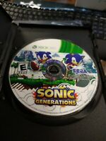 Sonic Generations (Microsoft Xbox 360, 2011) DISC ONLY