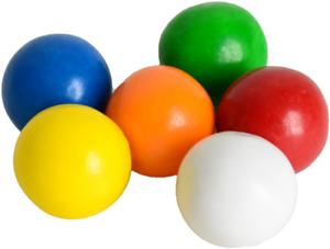 20 FRUIT FAVOURED BUBBLE GUM BALLS FREE P/P