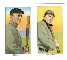 2 Ty Cobb (T 206 bat off & on shoulder) reprints