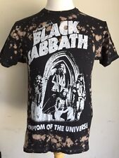 "BLACK SABBATH ""Symptom Of The Universe"" Official Bleached T-Shirt Size Medium"