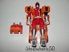 Power Rangers SPD Mega Morphin Red Ranger Action Figure Bandai 2005 Megazord