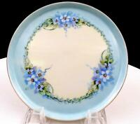 """NIPPON NORITAKE C B NELSON SIGNED HAND PAINTED FLORAL & PASTEL 5 3/8"""" SIDE PLATE"""