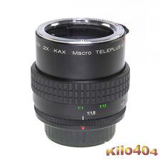 Kenko para Pentax 2x macro 1:1 teleconvertidores * Automatik * k bayoneta * k-1 * KP