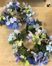 Set of 2 Hydrangea and Berry Rings by Valerie Parr Hill - NEW!