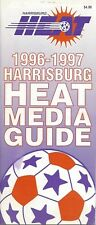 1996-97 Harrisburg Heat NPSL Indoor Soccer Media Guide - MISL AISA #FWIL