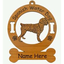 Spinone Italiano Head Dog Breed Ornament Personalized With Your Dogs Name 4013