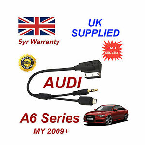 For AUDI A6 Series Samsung Galaxy S4 S5 S6 S7 Micro USB AUX 3.5mm Audio Cable sh