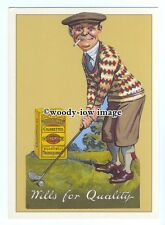 ad0811 - Will's Gold Flake Cigarettes- Chap Playing Golf  Modern Advert Postcard