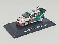 CM´S 1:64 Rally Car Collection Skoda Fabia WRC05 Japan Japón #12 Hirvonen