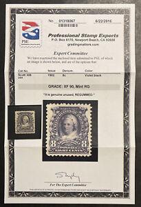 TDStamps: US Stamps Scott#306 Unused Regum PSE Cert Grade XF 90