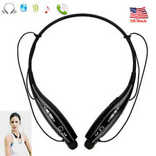 Neckband Bluetooth Headset Noise Cancelling Earphone For iPhone X 8 7 6 LG G5 G6