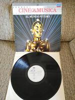 "EL MUNDO FUTURO METROPOLIS DUNE SOUNDTRACK LP VINYL 12"" 1987 VG+/VG+ SPANISH EDT"